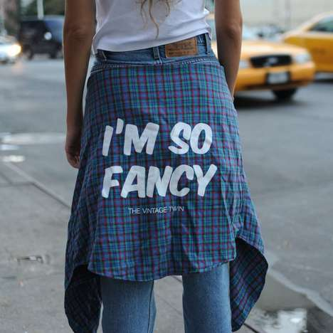 The I'm So Fancy Plaid Shirt Design Pays Tribute to Iggy Azalea