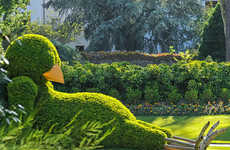 Sleeping Avian Topiaries