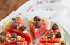 Refreshing Watermelon Pizzas - This Unconventional Sweet Pizza Crust is Made from Watermelon Slices