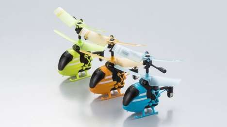Minuscule Helicopter Toys