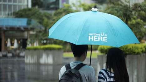 Inviting Umbrella Lights