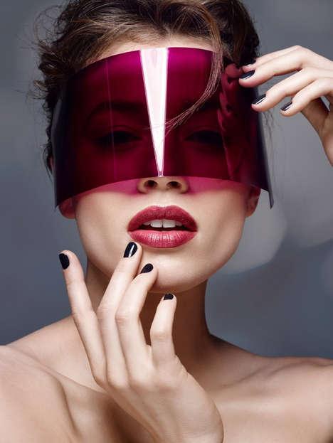 Futuristic Beauty Editorials