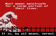Tampon-Shooting Gaming - Tampon Run is a Period Video Game Aiming to Normalize Menstruation