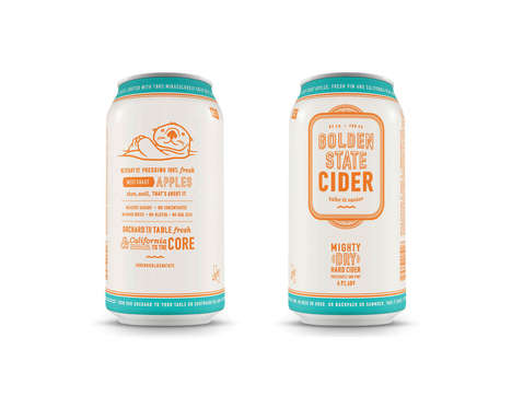 Californian Cider Cans