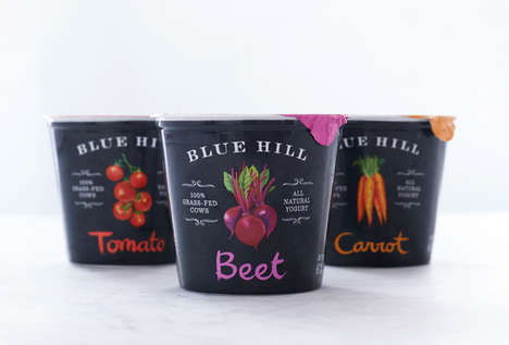 Savory Vegetable Yogurts