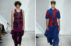 Graphic Jersey Apparel - Lacoste's Latest Collection Features the Work of Felipe Oliveira Baptista