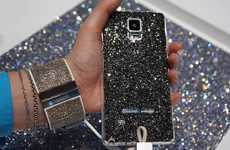 Opulent Wearable Technology - Swarovski for Samsung Collection is Meant for Fashion Mavens