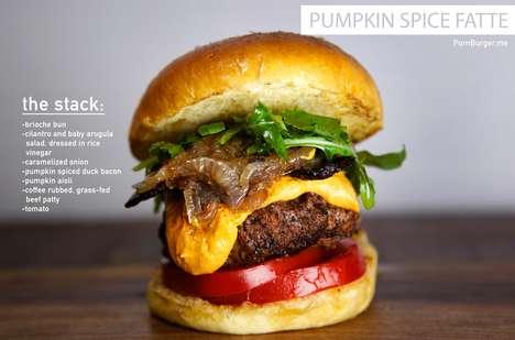 Festive Fall Burgers