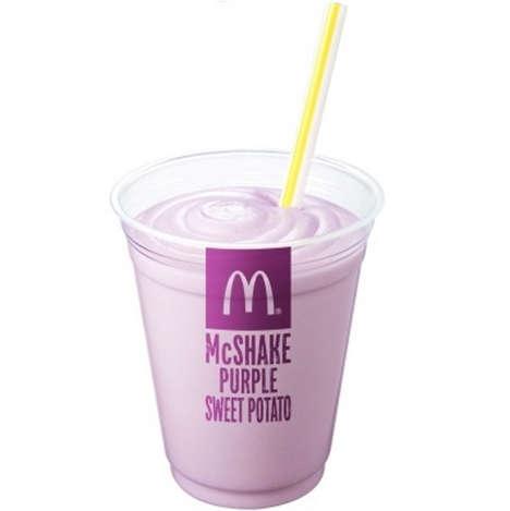 Purple Potato Milkshakes