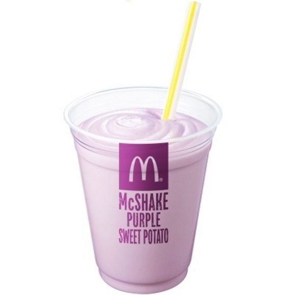 Purple Potato Milkshakes
