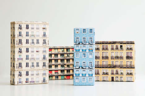 Cityscape Wrapping Paper