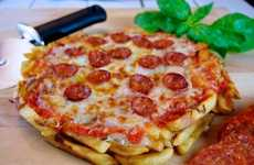 French Fry Pizzas