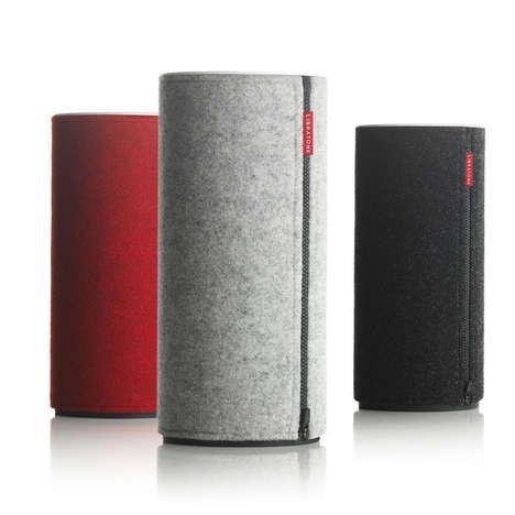 Fashionable Felt Speakers