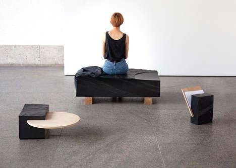 Interpretive Stone Furniture