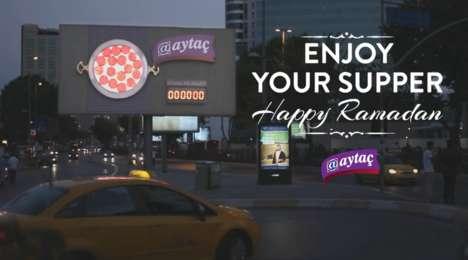 Fasting Countdown Billboards