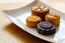 Designer Festival Cakes - High-Fashion Designers Team up to Create Luxury Festival Mooncakes