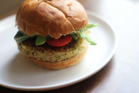 Minty Veggie Burgers