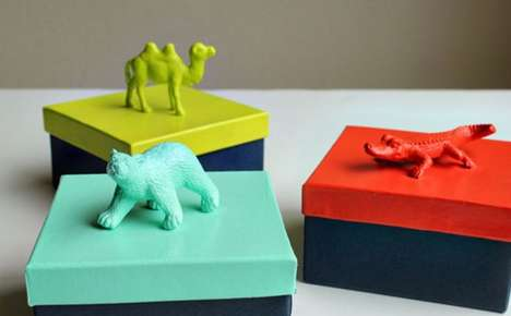 Animalistic Box Lids