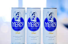 Hangover Prevention Brews - MERCY's Canned Citrus Drink from makes Mornings Easier After a Night Out