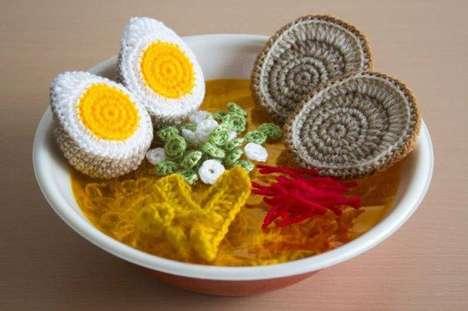 Crochet Ramen Meals