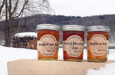 Ale Themed Spreads - These Tasty Beer Jelly Flavors Make Glazed Meats Extra Sweet