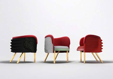 Designer Rapper Armchairs