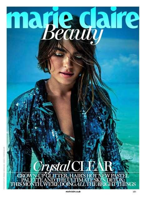 Beautifying Eyebrow Editorials