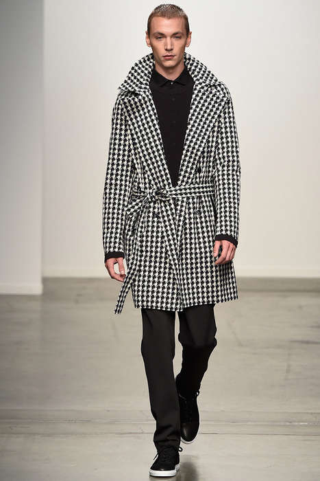 Haute Houndstooth Runways