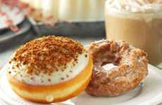 Festive Pumpkin Donuts - The New Pumpkin Spice Krispy Kreme Donuts are Filled With Autumn Flavors