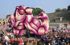Mind-Boggling Flower Parades