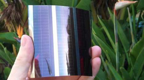 Sun-Powered Personal Electronics