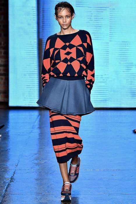 Authentic New Yorker Runways - The Latest DKNY Show References Park Avenue, Soho with The Bronx