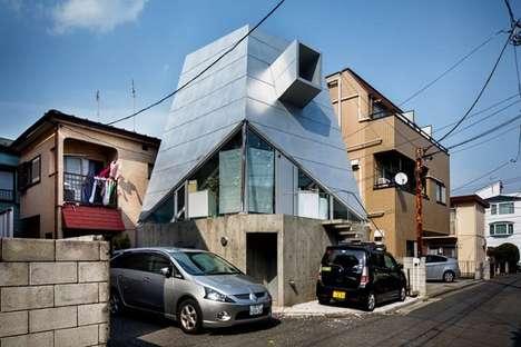 Suburban Japanese Architecture Photography