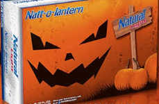 Spooky Pumpkin Lagers - The Natt-o-Lantern Pumpkin Beer is Infused with the Festive Fall Flavors