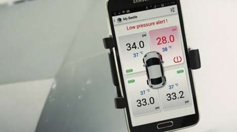 Bluetooth Tire Pressure Monitors - The Fobo Tire Pressure Monitoring System With iOS and Android