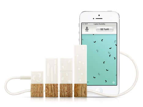 Sustainability-Measuring Tech Accessories