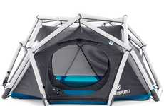 Geodesic Camping Shelters - This Cave Tent Design by Heimplanet Features a Sci-Fi Inspired Design