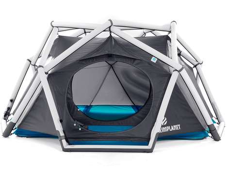 Geodesic Camping Shelters