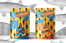 Fish Jerky Snacks - Otuna's Jerky Meat Snack Swaps Beef for Fish