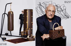 Iconic Luggage Rebranding - The Louis Vuitton Iconoclasts Series Was Designed by Renowned Artists
