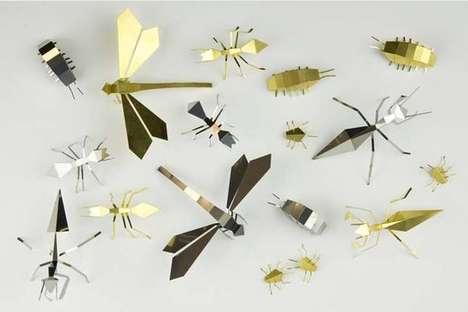 Animalistic Metal Origami