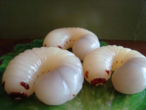 Lifelike Insect Desserts - Akai Tento no Koohii Ten's Gummy Bugs are Filled with Jams
