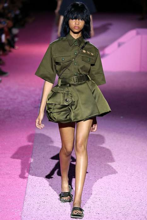 Satin Militant Fashions