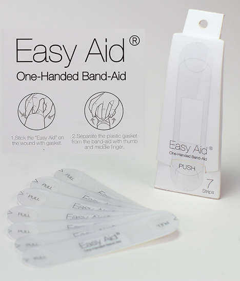 One-Handed Bandages