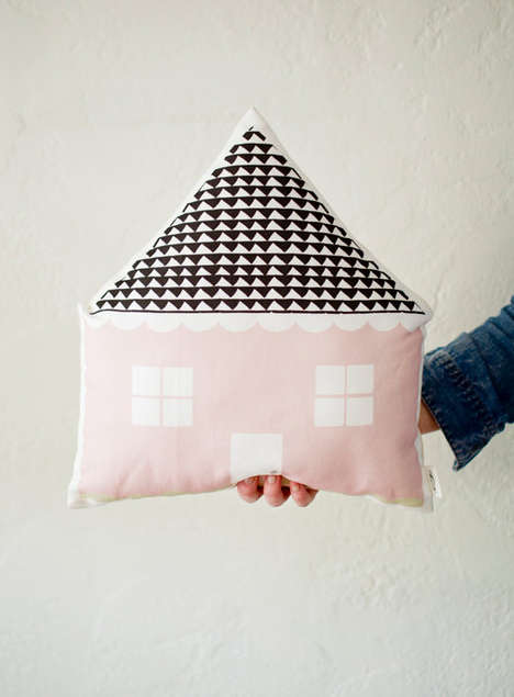 House-Shaped Cushion Accessories