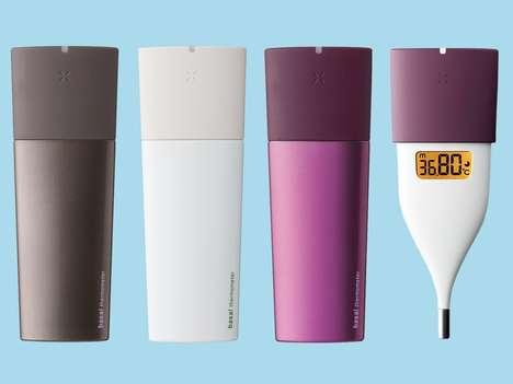 Feminine Smartphone Thermometers
