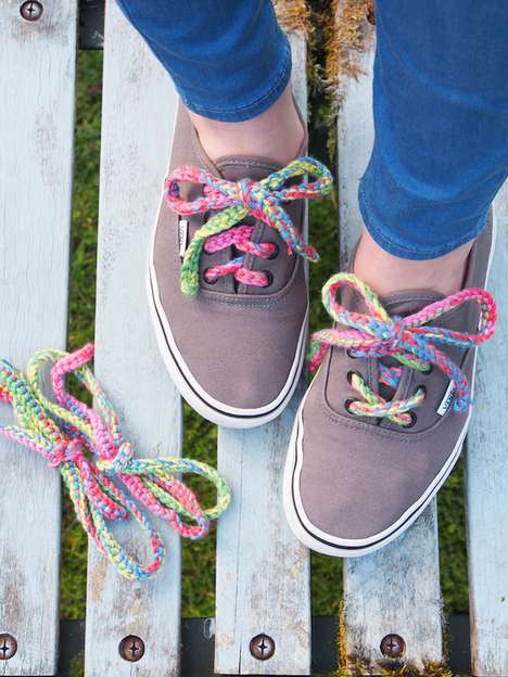 Colorful Crochet Laces