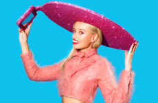 Glitzy Selfie Sombreros - Dress to Impress with the Acer Selfie-Hat