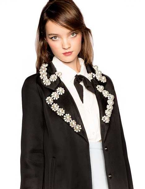 Jewel Collar Jackets