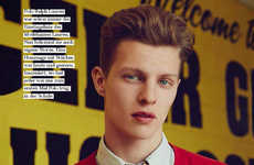 Sporty Schoolboy Photography - GQ Style Germany's Jersey Boy Story Features Collegiate Fashions